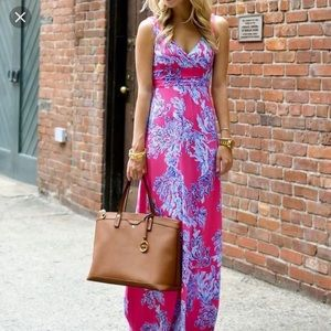 NWT Lilly Pulitzer Sloane pink maxi dress